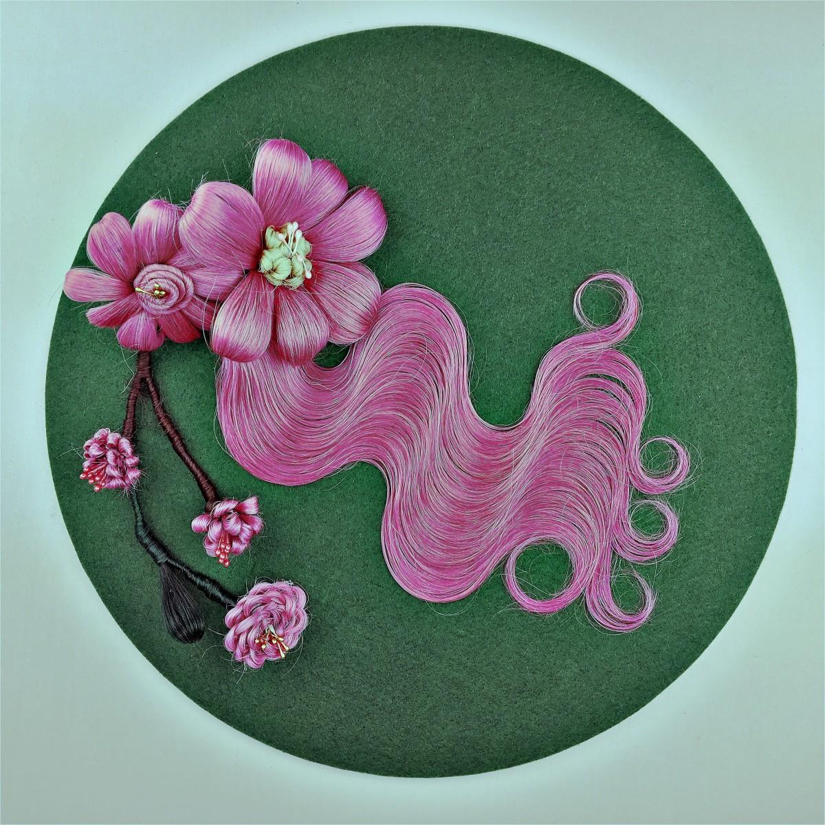 PinkHairflowers